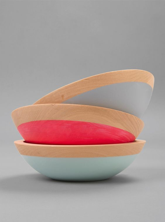 Couverture and The Garbstore - Homeware - Wind & Willow - Wooden Salad Bowl 7""