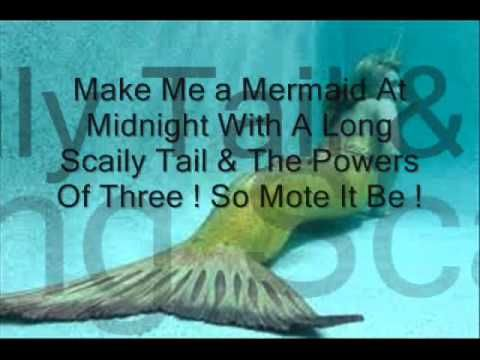 Mermaid Spells Really Works Youtube With Images Mermaid