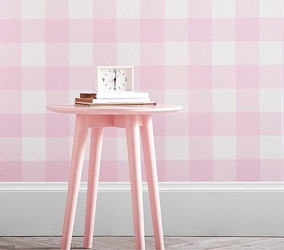 Buffalo Check Peel Stick Wallpaper Peel And Stick Wallpaper Nursery Wall Decals Decoration And Furniture