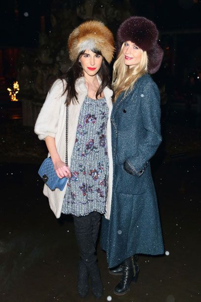 Caroline Sieber and Poppy Delevingne