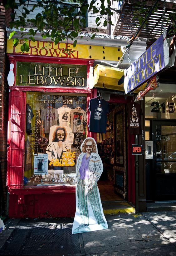 Little Lebowski Shop in nYc. Heaven ?