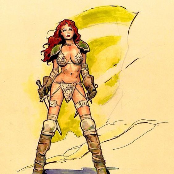 Red Sonja by Cary Nord *