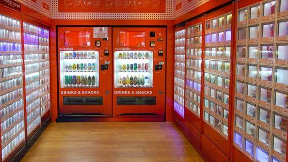 Vending Machine Cafe