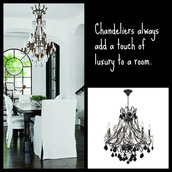 Elegant Chandeliers In Dining Rooms Crystal Chandeliers