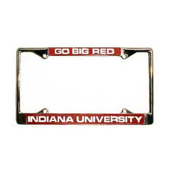 Go Big Red License Plate Frame | T.I.S. College Bookstore @ Indiana University