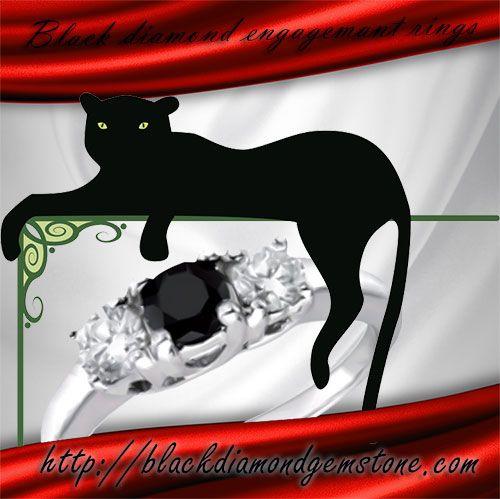 #blackfriday #blackdiamondengagementring Explore our range of black diamond engagement rings, wedding bands and many other black diamond jewellery fashion items.  Please visit: http://blackdiamondgemstone.com