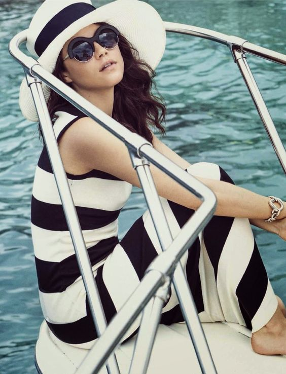 """Cruise"" Anna Christine Speckhart for Glamour Italy June 2015:"