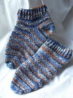 round and round toe up socks- Crochet