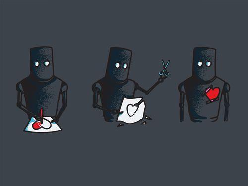 robot love.