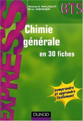 Bibliotheque Scientifique Livres Chimie Generale En 30 Fiches Pdf Chimie Chimie Organique Chimie Des Solutions