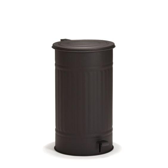 Poubelle à pédale 55L Noir mat - Max - Les poubelles de cuisine - Poubelles - Tout pour le rangement - Décoration d'intérieur - Alinéa