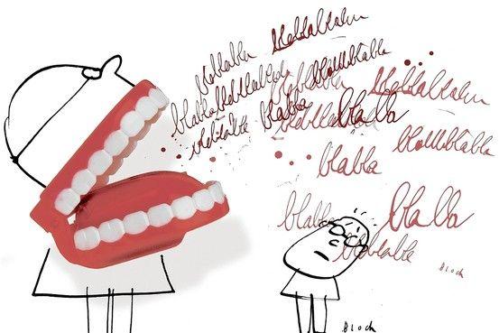Una dentadura muy habladora XD #GABO #GabineteOrtodoncia #Elche #Sisomosdiferentes #Sinmiedoaldentista Photo illustration by Serge Bloch; Getty Images (teeth)