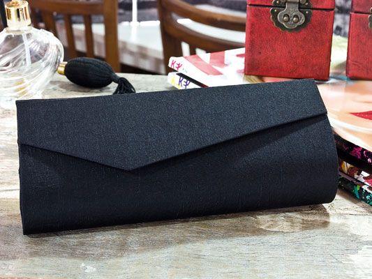 Bolsa Feita Com Caixa De Leite E Tecido : Carteiras do tipo clutch portal de artesanato o melhor
