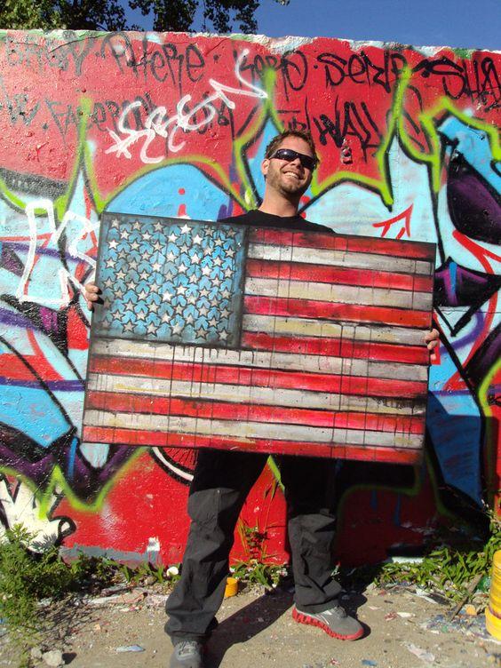 american flag graffiti - photo #8