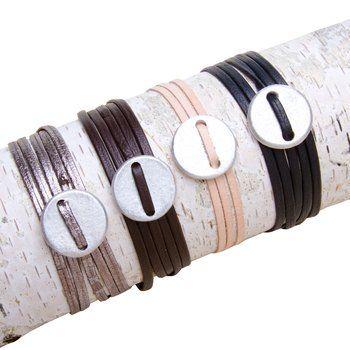 Coin Wrap Bracelet.