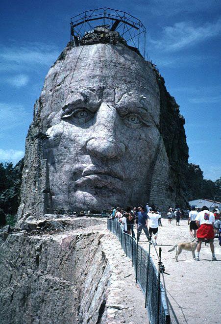 Crazy Horse Memorial,   South Dakata - !0 reasons to visit Hot Springs, South Dakota http://livedan330.com/2015/08/02/10-reasons-you-should-visit-hot-springs-sd/