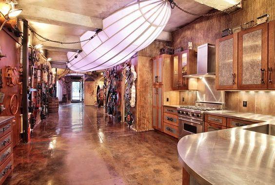 Steampunk Design Ideas Modern Steampunk Interior Trends Home Interior Design Kitchen And