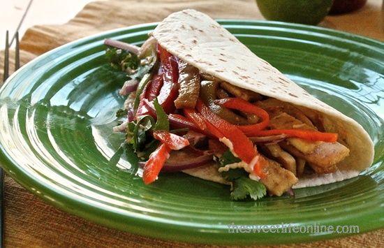 Tofu Banh Mi Tacos - Vegan