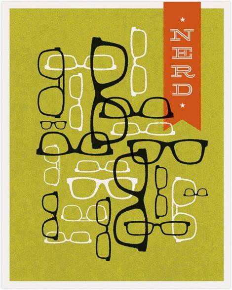 das wel niet voor Nerds maar voor mensen die toch een goeie smaak hebben van een  bril te kiezen een rayban bril ! ik heb een oranje omdat ik dus totaal niet pas met een rayban maar ik vind ze wel prachtig !MARIE-LU    x