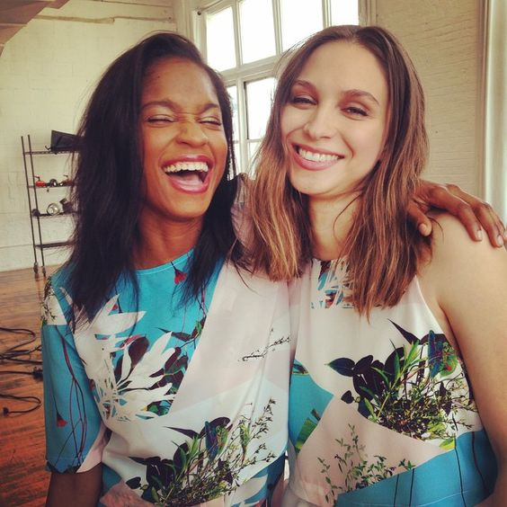 Studio A Selfie for Alice Hope's Spring campaign with photographer Marley Kate.