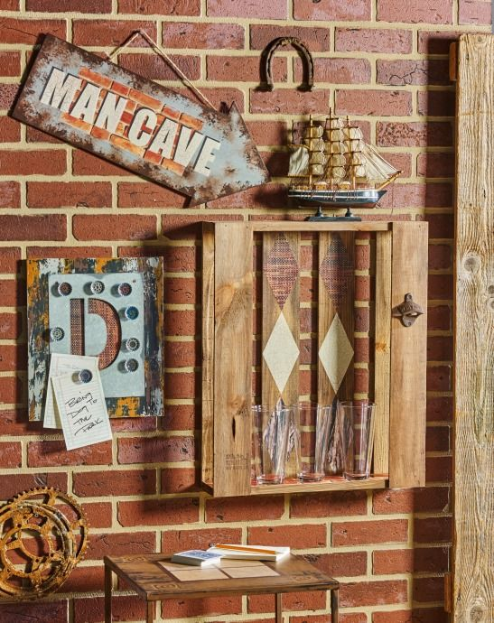 how to make a man cave on a budget