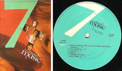 Various Artists / Silver Burdett Music (Book 3, Record 7) / 1974 / Green Label ($8.00)