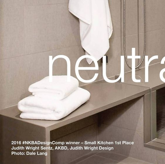 Beiges and bone tones are the third most popular color for bathrooms expected to hold steady in 2016. Weve shared a selection of inspiring neutral bathroom designs on our feed all by our #NKBADesignComp winners. Like and comment on your favorites!  2016 #NKBADesignComp winner  Before and After Bath Jaye Gordon Haddad Hakansso Design Studio Co-Designer: Mark H. Haddad AKBD Photo: Shelly Harrison by thenkba
