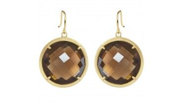 Shaesby large tesoro coin earring