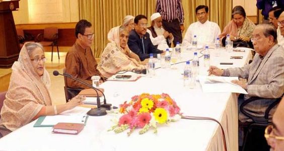 NBS : November 27, 2015, Friday Prime Minister Sheikh Hasina on Thursday blamed the Bangladesh Nati...