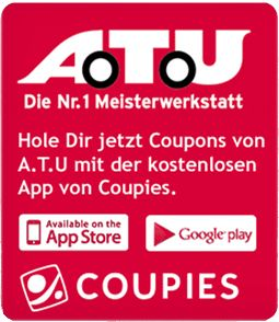 A.T.U Coupons bei COUPIES