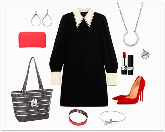 Holiday Look #3 Pictured: City Chic Tote, Stackin' Jacksons, Just Write Snap Bracelet, Dream Catcher Necklace with Keepsake Charm, Luxe Loop Dangles, Cherish Bracelet