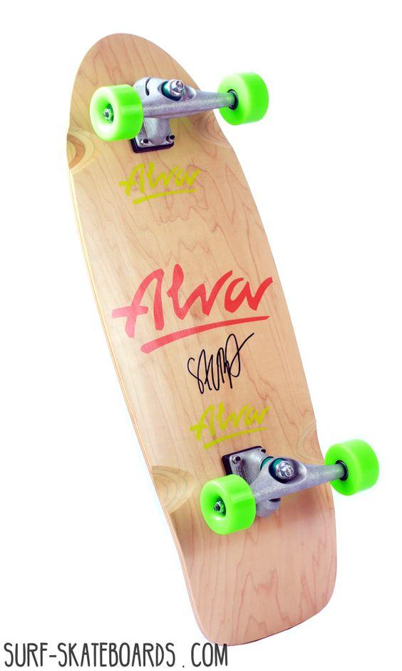 carver skateboard - cruiser skateboard - alva salba - carver cx
