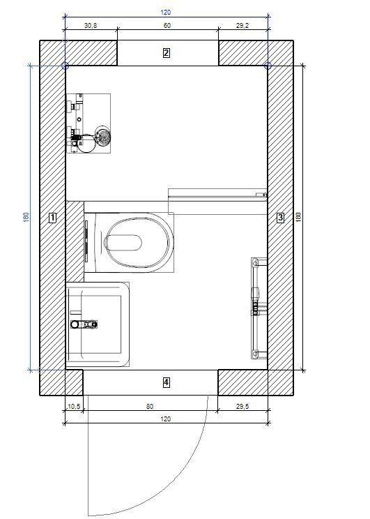 Grundriss Kleines Bad Hamburg Bergedorf Salledeau Grundriss Kleines Bad Hamburg Bergedorf In 2020 Small Bathroom Bathroom Floor Plans Small Shower Room