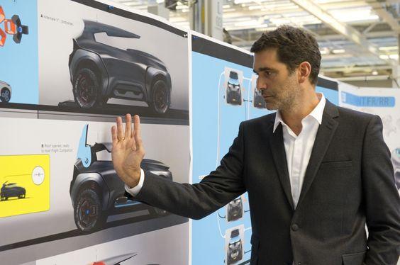 Portrait of J. Semeriva - #Designer. Relive the #Design birth of the #Renault #Kwid #conceptcar. (c) J-C Mounoury - Droits réservés Renault