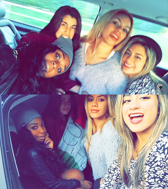 Normani, Lauren, Dinah and Ally