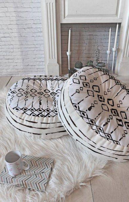 20 Ideas Diy Bedroom Boho Floor Pillows Diy Boho Floor Pillows Boho Pillows Diy Boho Floor