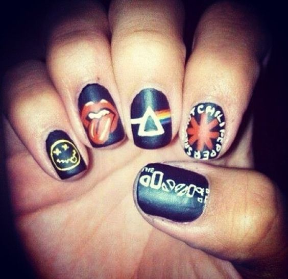Music in my heart and on my nails