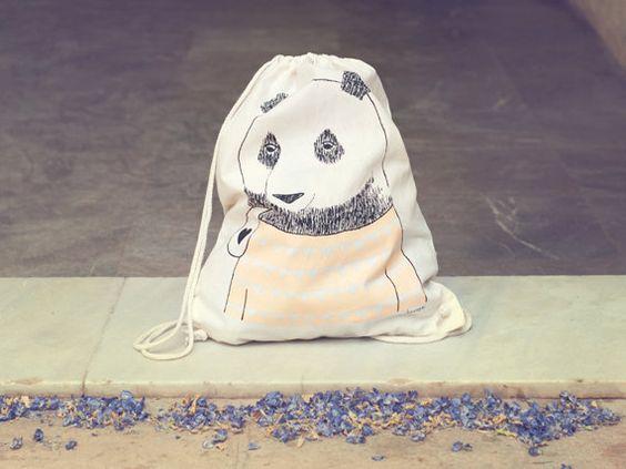 Bear backpack by Depeapa