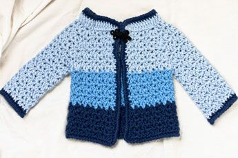 Free Crochet Pattern For Kimono : baby kimono sweater crochet childrens/baby sweaters ...