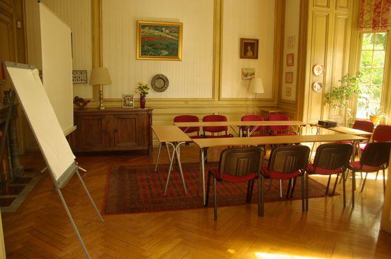 Salle de réunion pour séminaire à la Villa Roassieux