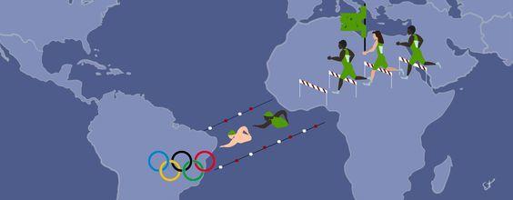 Ein neues Team Athleten hatte seinen großen Auftritt zum Auftakt der Olympischen…