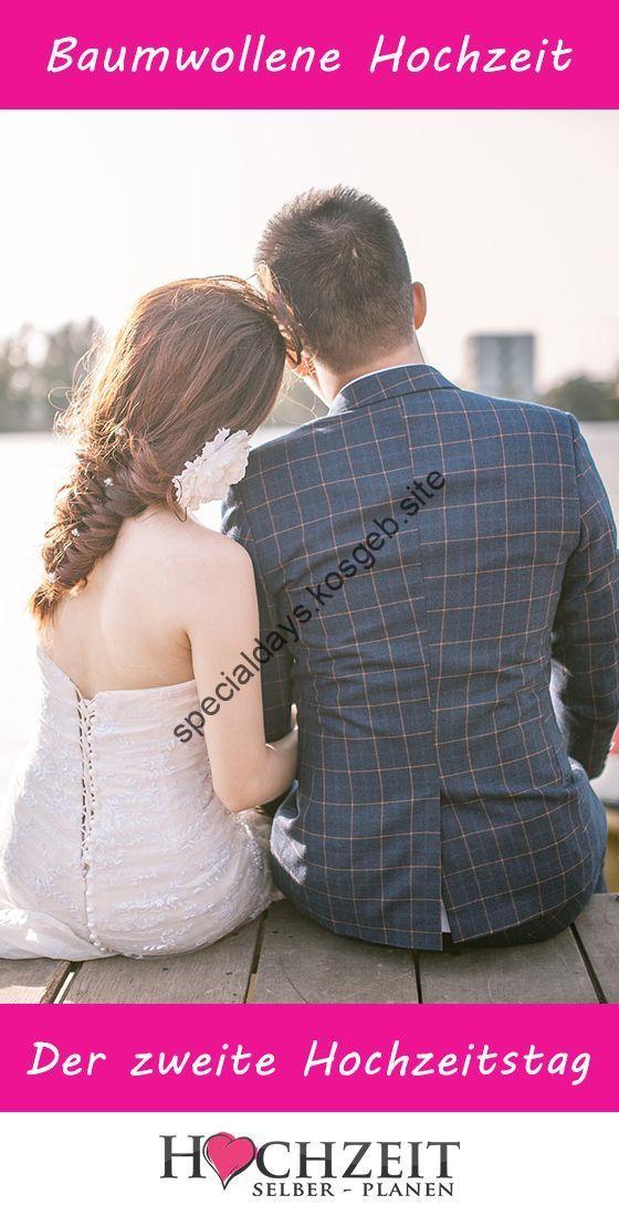 2 Hochzeitstag Baumwollhochzeit