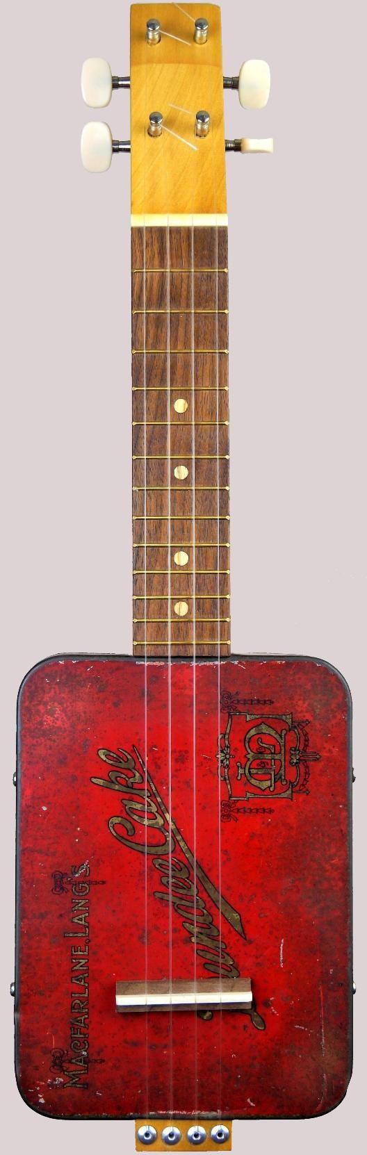 Cig-R Guitars Soprano Canjolele