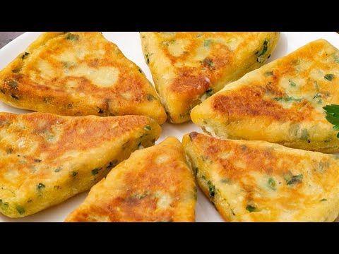 أشهى فطائر البطاطا بالجبن مقرمشة من الخارج وطرية من الداخل مع وصفة أخرى سهلة وسريعة التحضير Youtube Food Cheese Pizza Cheese