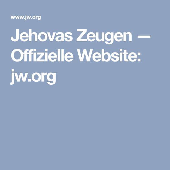 Jehovas Zeugen — Offizielle Website: jw.org