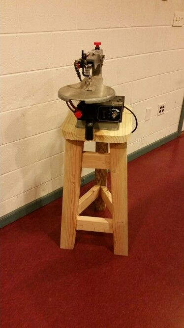 saw stand and scroll saw on pinterest