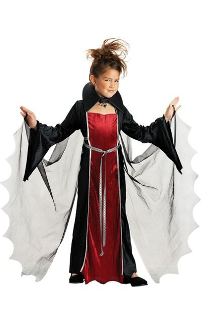 Girls Vampire Girl Costume -Vampire Costumes -Girls Costumes ...
