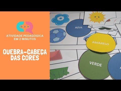 Jogo Quebra Cabeca Das Cores Educacao Infantil Youtube Educacao Infantil Sites Educacionais Trabalhar Com Criancas