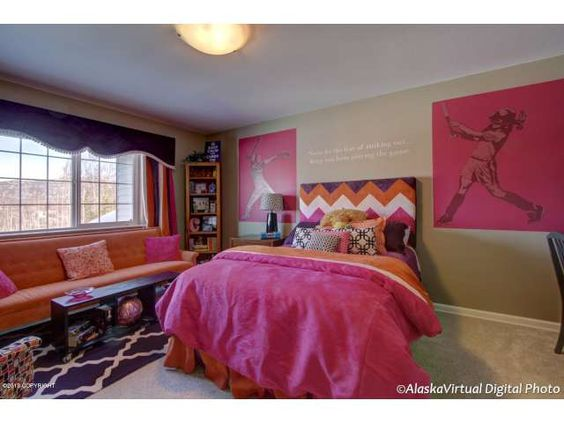 Softball Bedroom Ideas for Girls