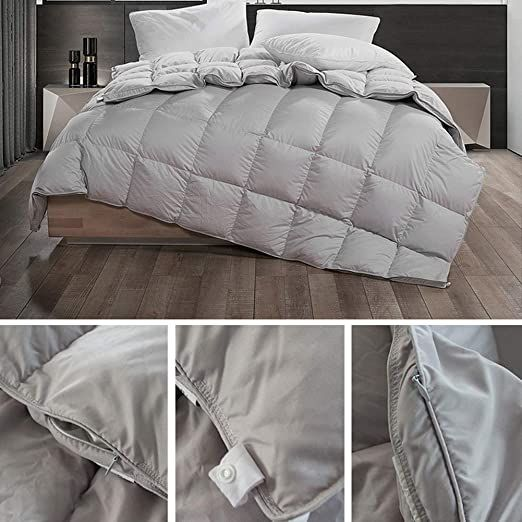 Baby Wzl White Goose Feather Amp Down Duvet Insert 100 Cotton Fabric Anti Dust Mite Amp Down Proof Anti Allergen 230230cm Dust Mites Duvet Insert Duvet